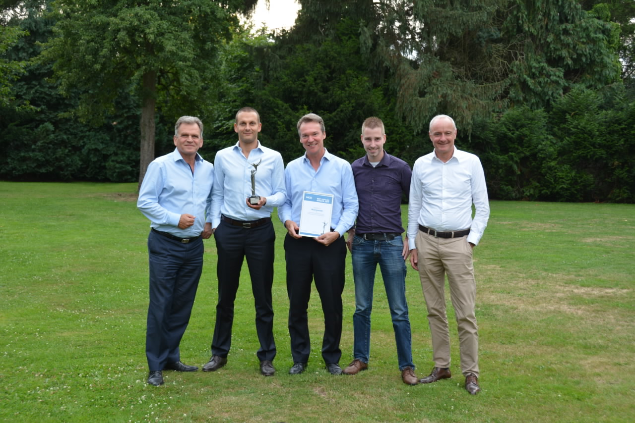 Zwitserse Montan Stahl wint MCB Supplier Award